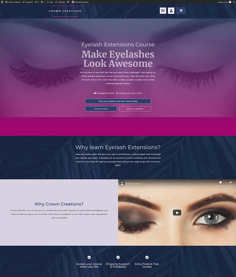 beauty-training-website